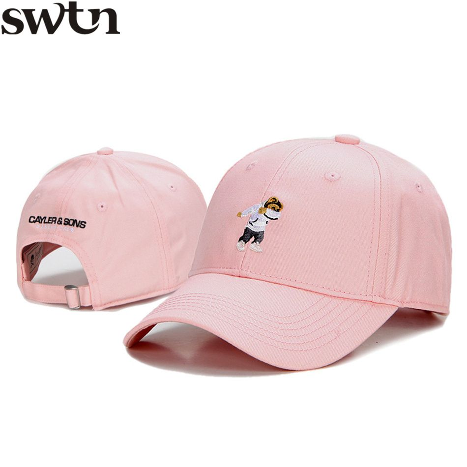 SWTN Snapback Cayler Son Dabbin Crew Brand Baseball Caps Men Little Bear  fitted Dad Hats camouflage bone trucker gorras mujer cfabc4f1120