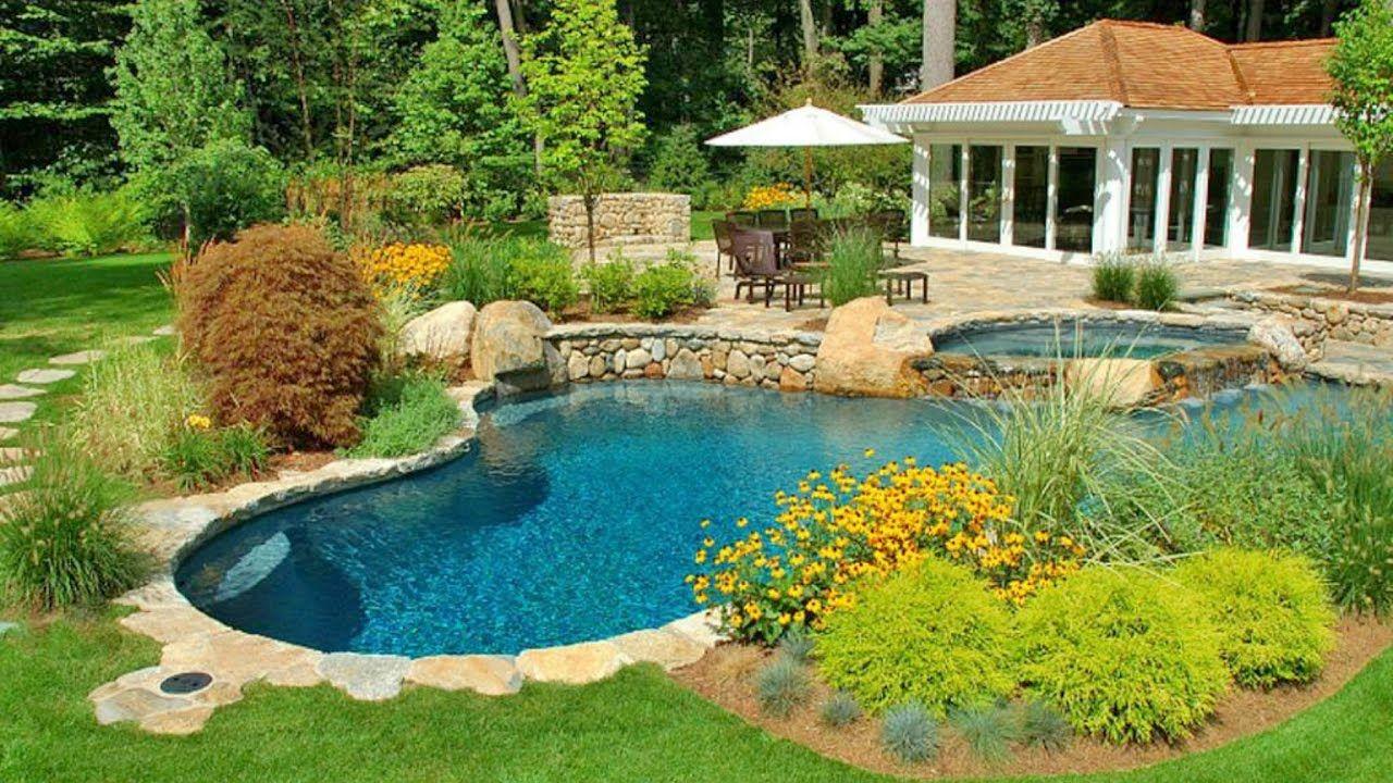 80 Pool Creative Ideas 2017 Amazing Swimming Pool Design And Pool Landscape Design Backyard Pool Landscaping Small Backyard Pools