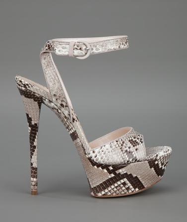 "Casadei ""Roccia"" sandal - Fall 2012"