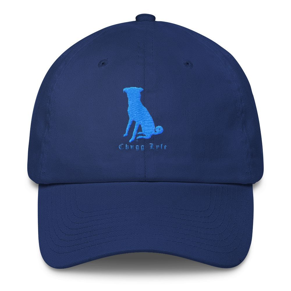 The Royal Blue Curved Chugg Cap