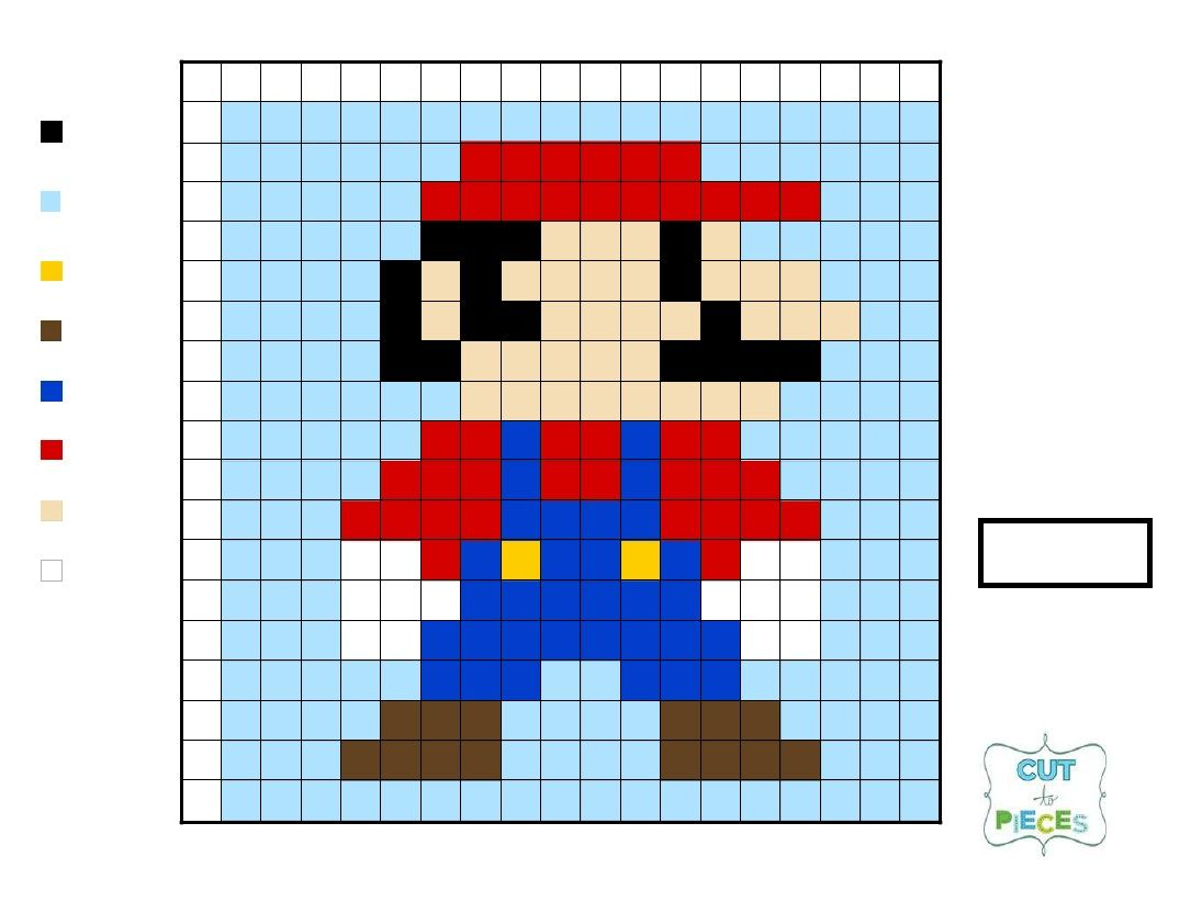 Super Mario Brothers QAL - Mario | tutorials | Pinterest | Stricken ...