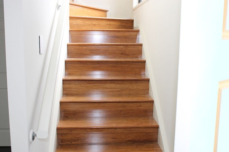 Delightful Bamboo Staircase | Coffee Bamboo Stairs Zealsea Timber Flooring Gold Coast,  Brisbane QLD .
