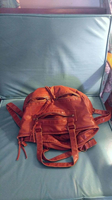 d7c955fe469b Bag that looks like Jabba the hutt.