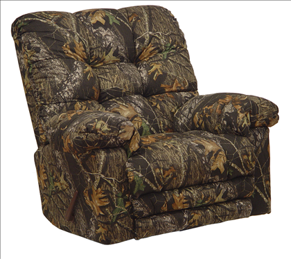 Catnapper magnum mossy oak camo rocker recliner with heat for Catnapper magnum chaise recliner