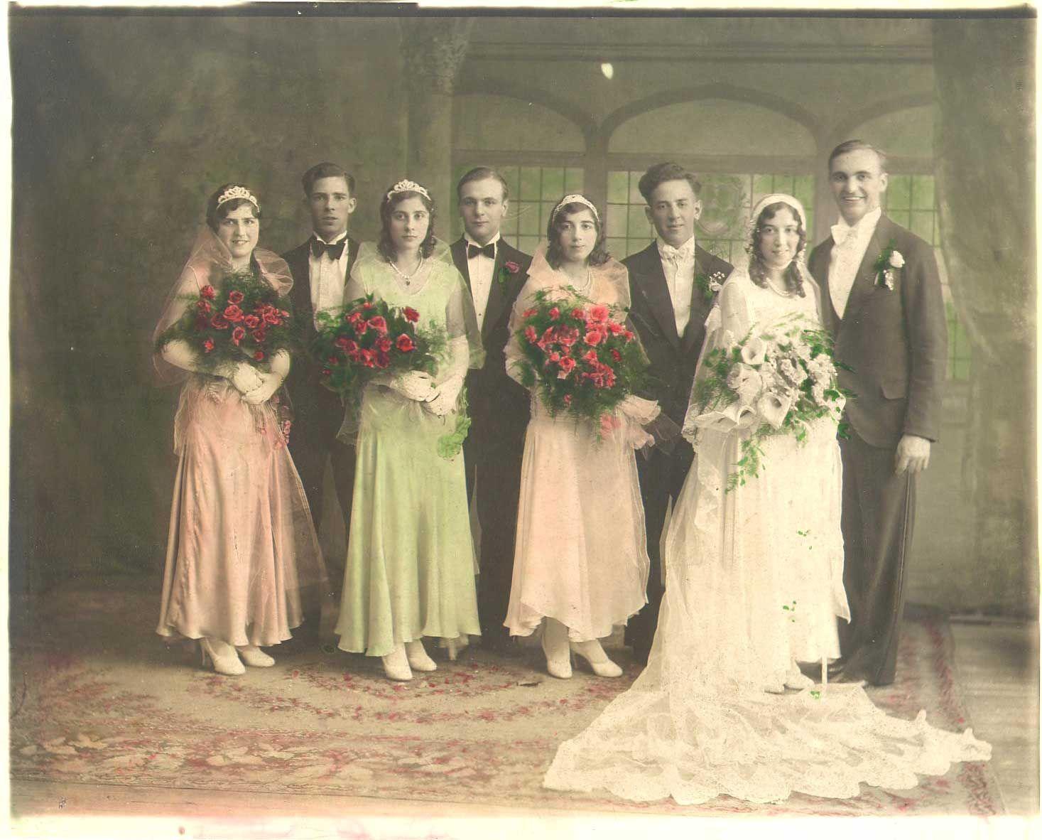 1930 wedding dress   Wedding  The Big Day  Pinterest  Vintage weddings Weddings