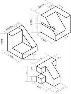 Dibujo Tecnico Isometria En Dibujo Tecnico Dibujo Isometrico Tecnicas De Dibujo Ejercicios De Dibujo