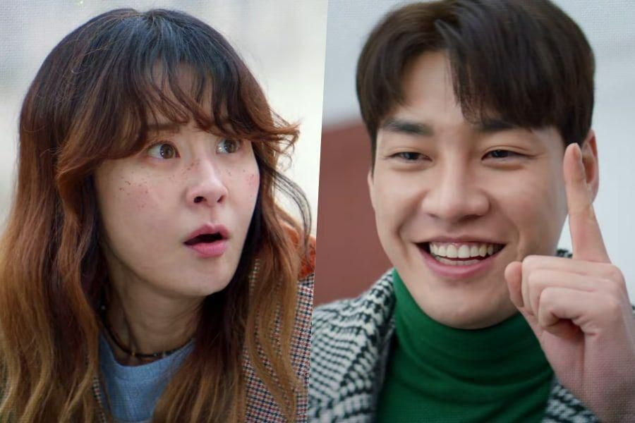 Watch: Choi Kang Hee Is Taken Aback By Kim Young Kwang's Brazen Nature In Teaser For Upcoming Rom-Com