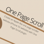Create an Apple-like one page scroll website - jQuery Plugin | Web Design | DESIGNIFY