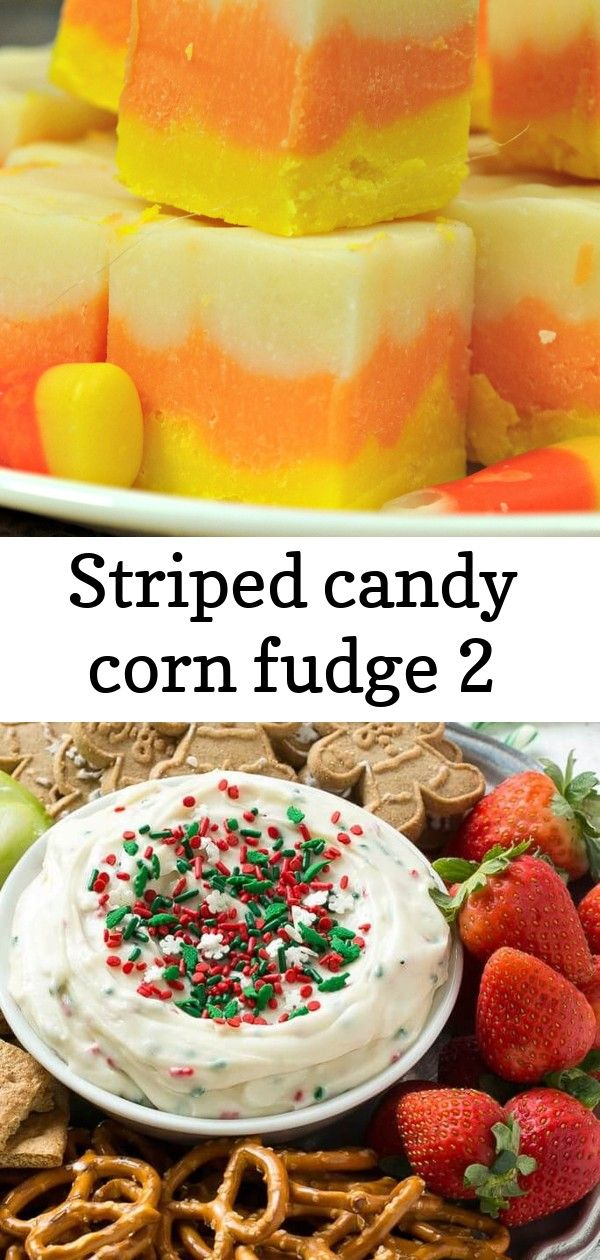 Striped candy corn fudge 2 #labordayfoodideas