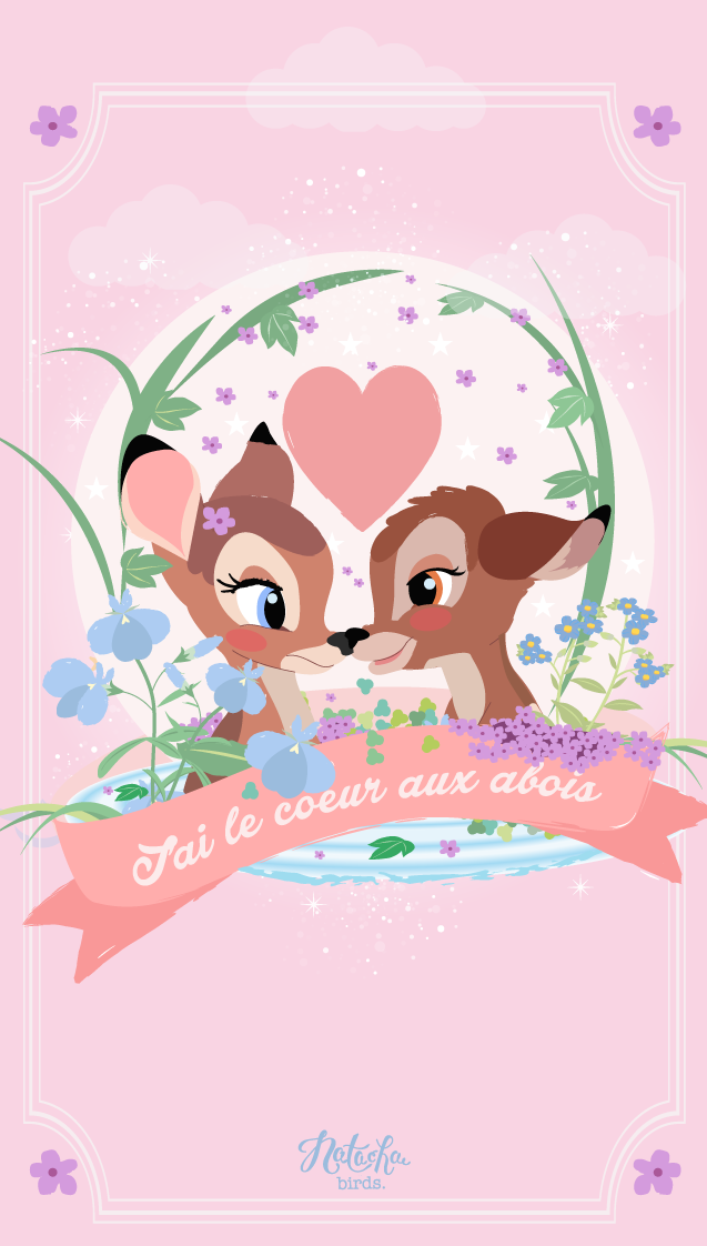 Bambi Find More Cute Disney Wallpapers For Your Iphone