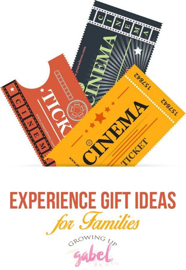 Experience gifts are fun Christmas presents for families, for kids and for  adults. Give - Experience Gifts Are Fun Christmas Presents For Families, For Kids