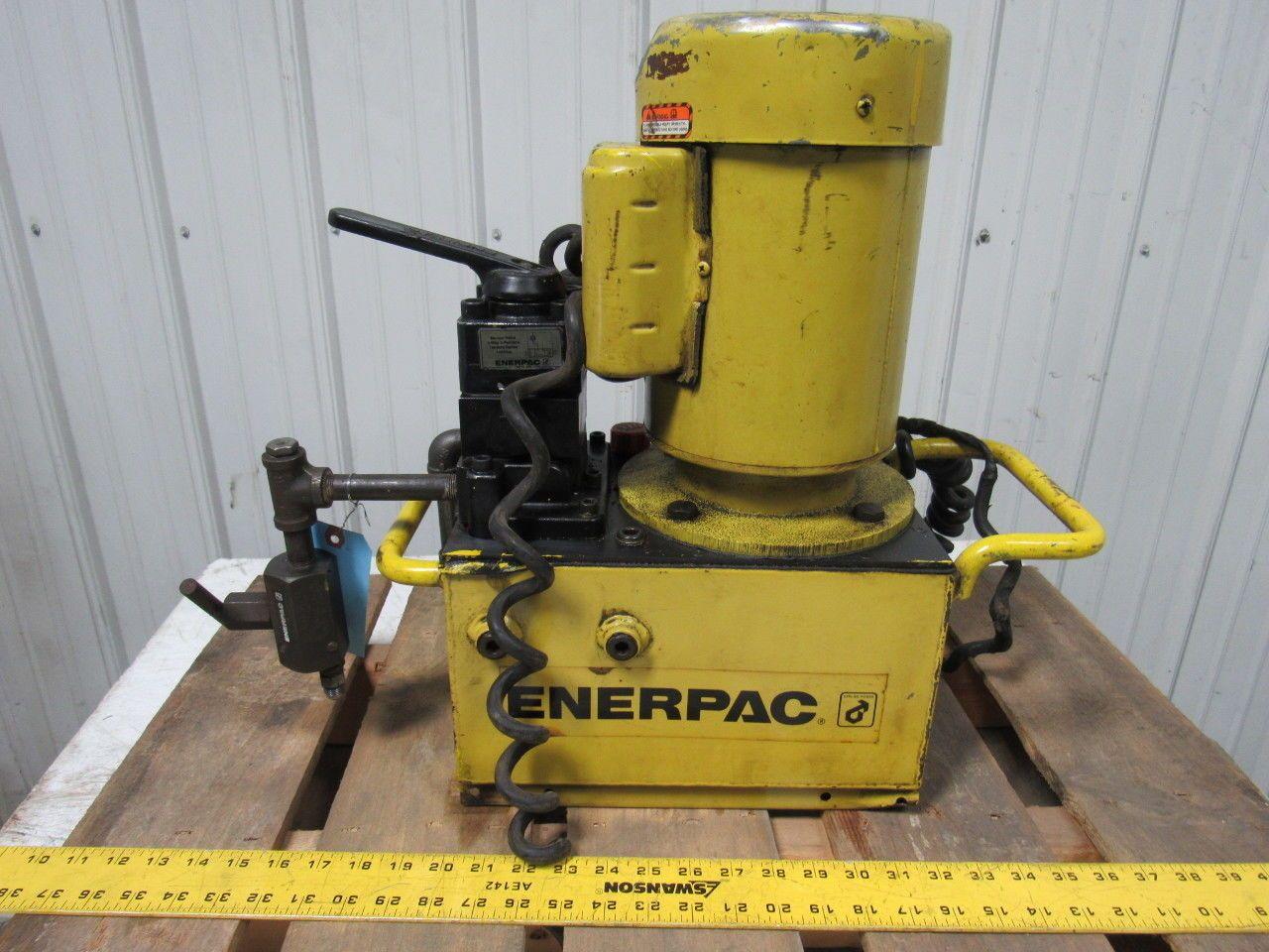Enerpac Pem3602b 30000 Submerged 10 000psi Max Electric Hydraulic