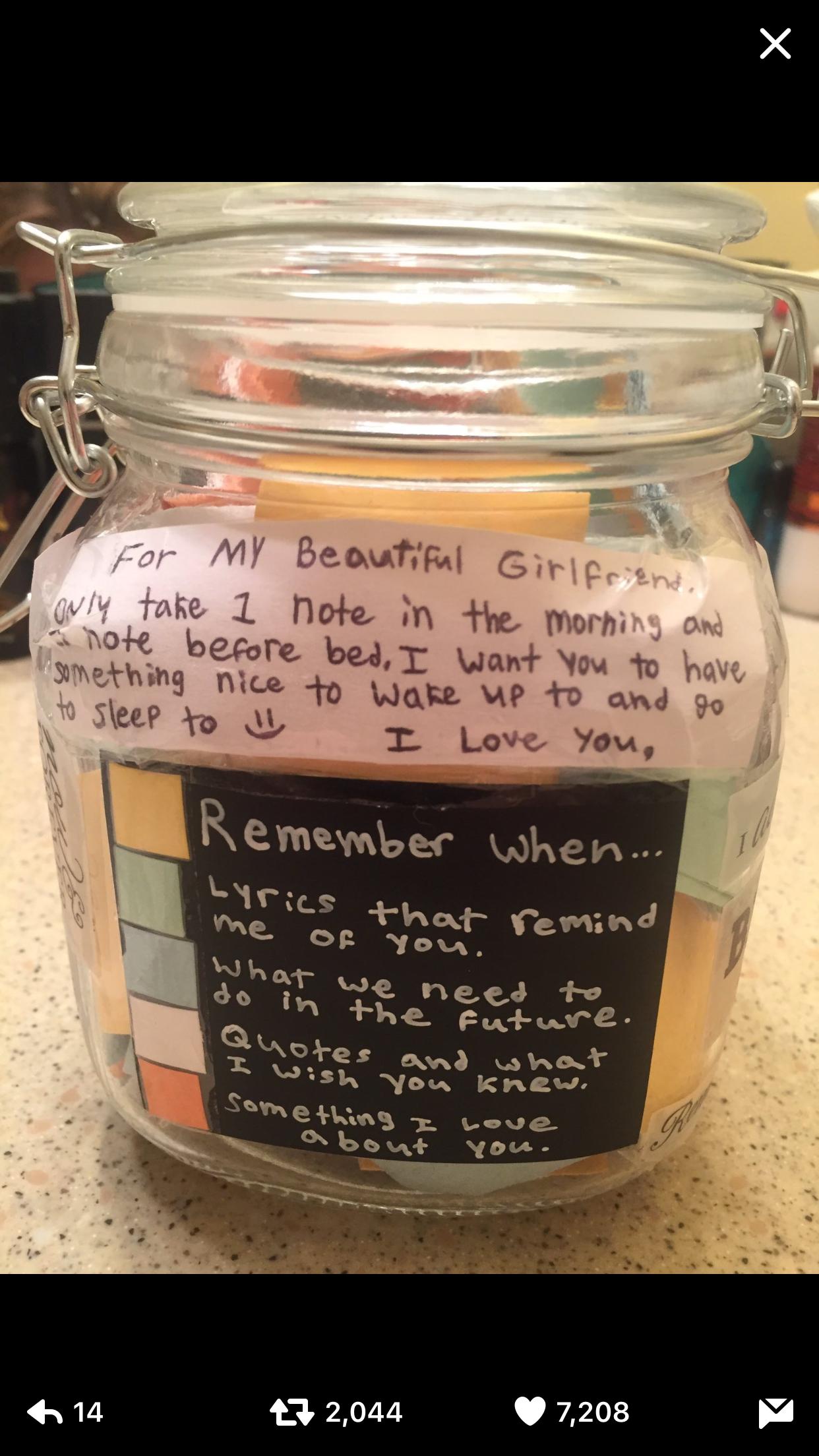 Pin By Bindujshah On Babe Me Mason Jar Gifts Diy Love Jar Love Notes For Boyfriend
