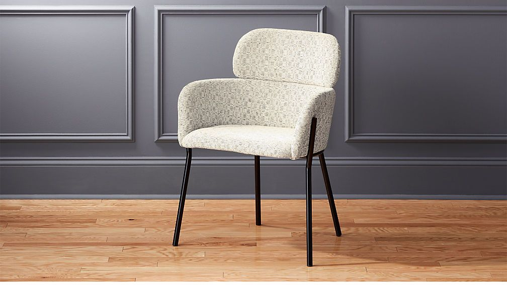 Azalea Ivory Moon Chair Reviews Cb2 Dining Chairs Modern Dining Chairs Furniture Dining Chairs