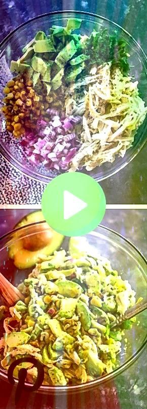 Avocado Chicken Salad Omit the corn or use a small amount Healthy Avocado Chicken Salad Omit the corn or use a small amountHealthy Avocado Chicken Salad Omit the corn or...