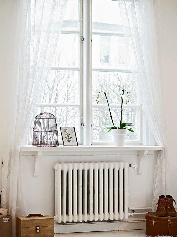 decoratie-idee-vensterbank | Vensterbank | Pinterest - Vensterbank ...