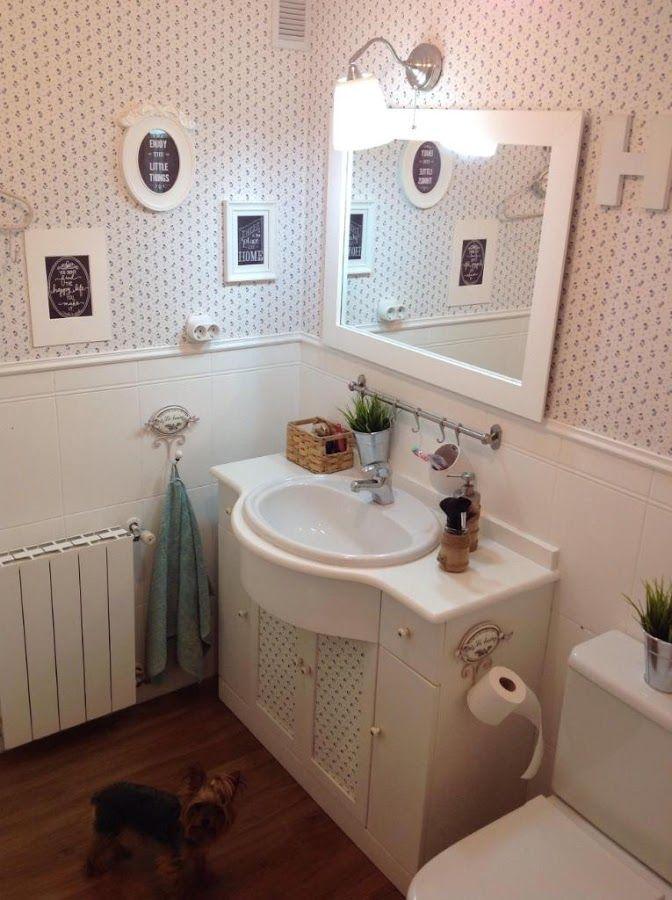 Reforma low cost para tu cuarto de baño | Apple home, Home ...