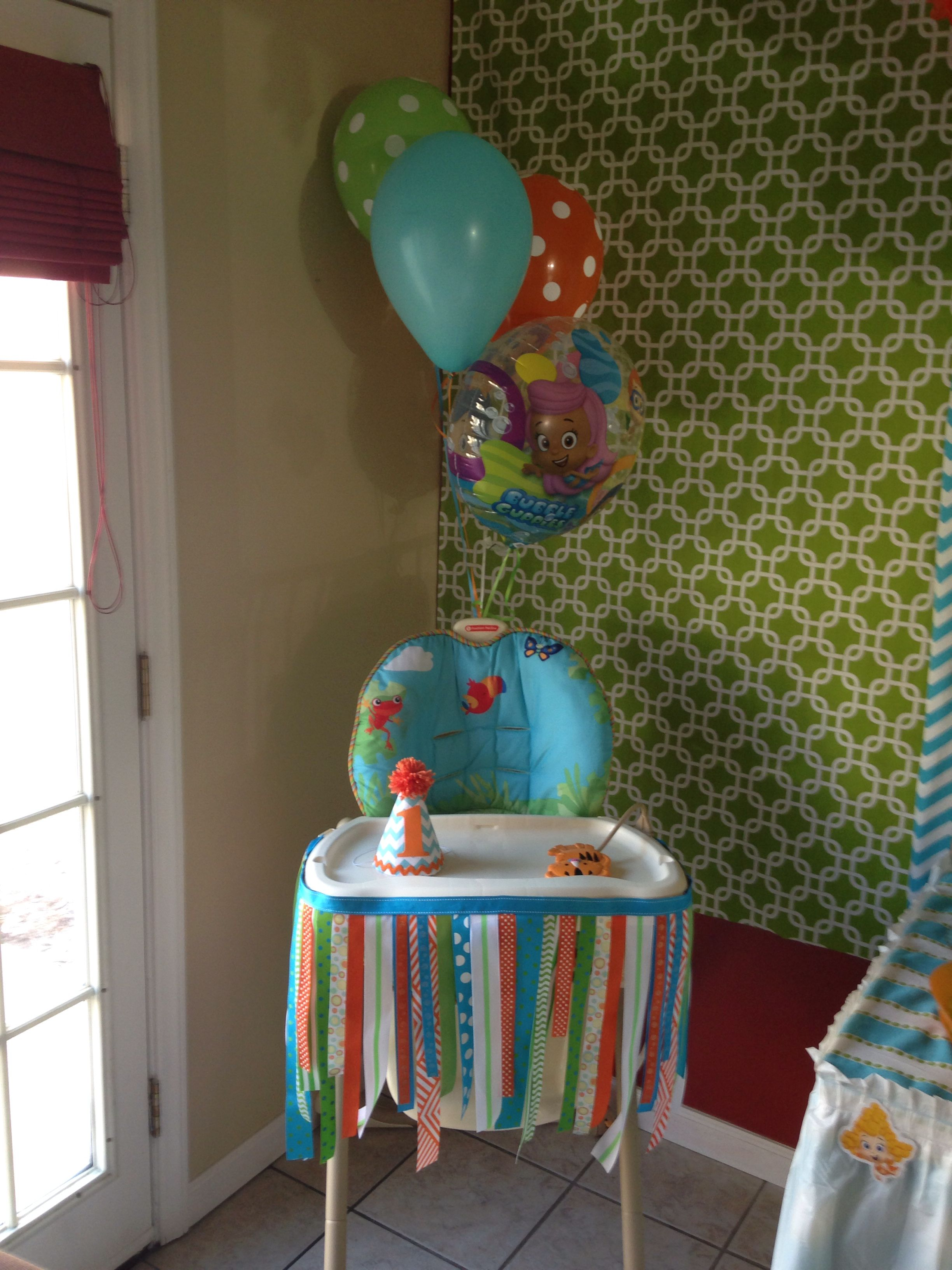 Bubble Guppies First Birthday