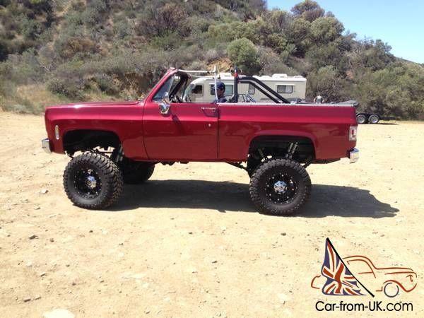 1973 Chevrolet Blazer K5 4x4 Photo Chevrolet Blazer Chevy Blazer K5 Chevrolet