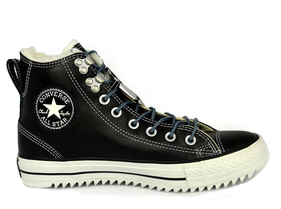 0ee08605366 NEW CONVERSE CHUCK TAYLOR CT CITY HIKER HI Sawtooth MENS Black NIB  Converse   Athletic