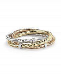 Roberto Coin | Diamond Collection Oval Bangle | Style 000370AWBAX0Diamond Collection