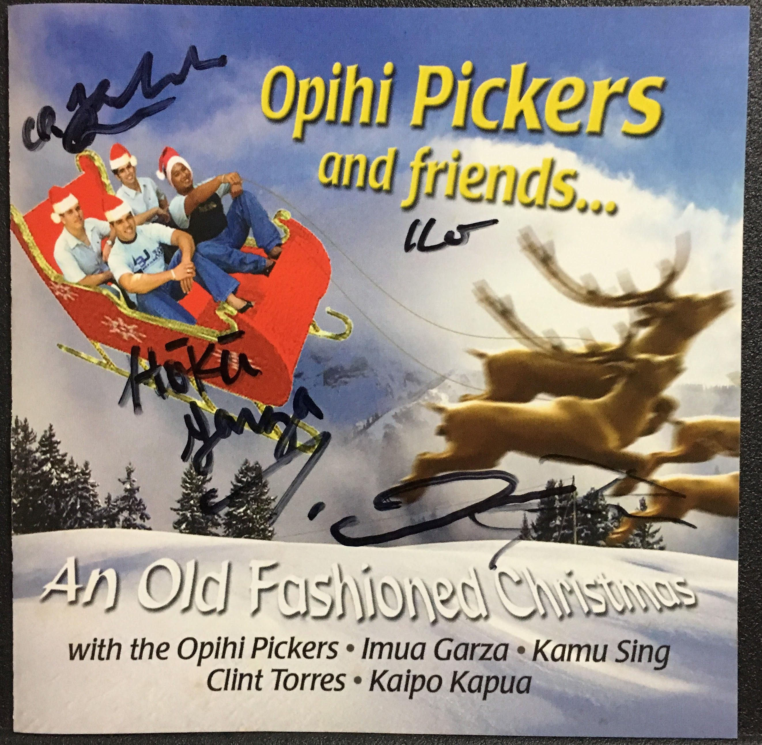 An old fashioned Christmas by Opihi Pickers & friends. -Go Aloha ...