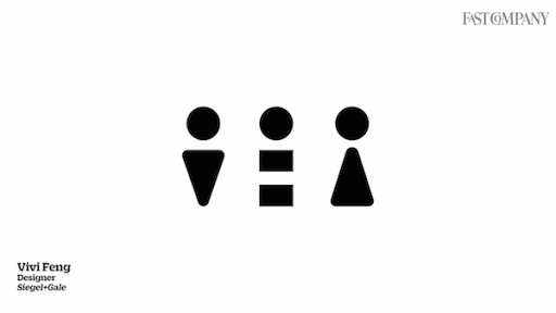 Watch Six Designers Recreate The Bathroom Icon As Gender Neutral Gender Neutral Icon Toilet Icon