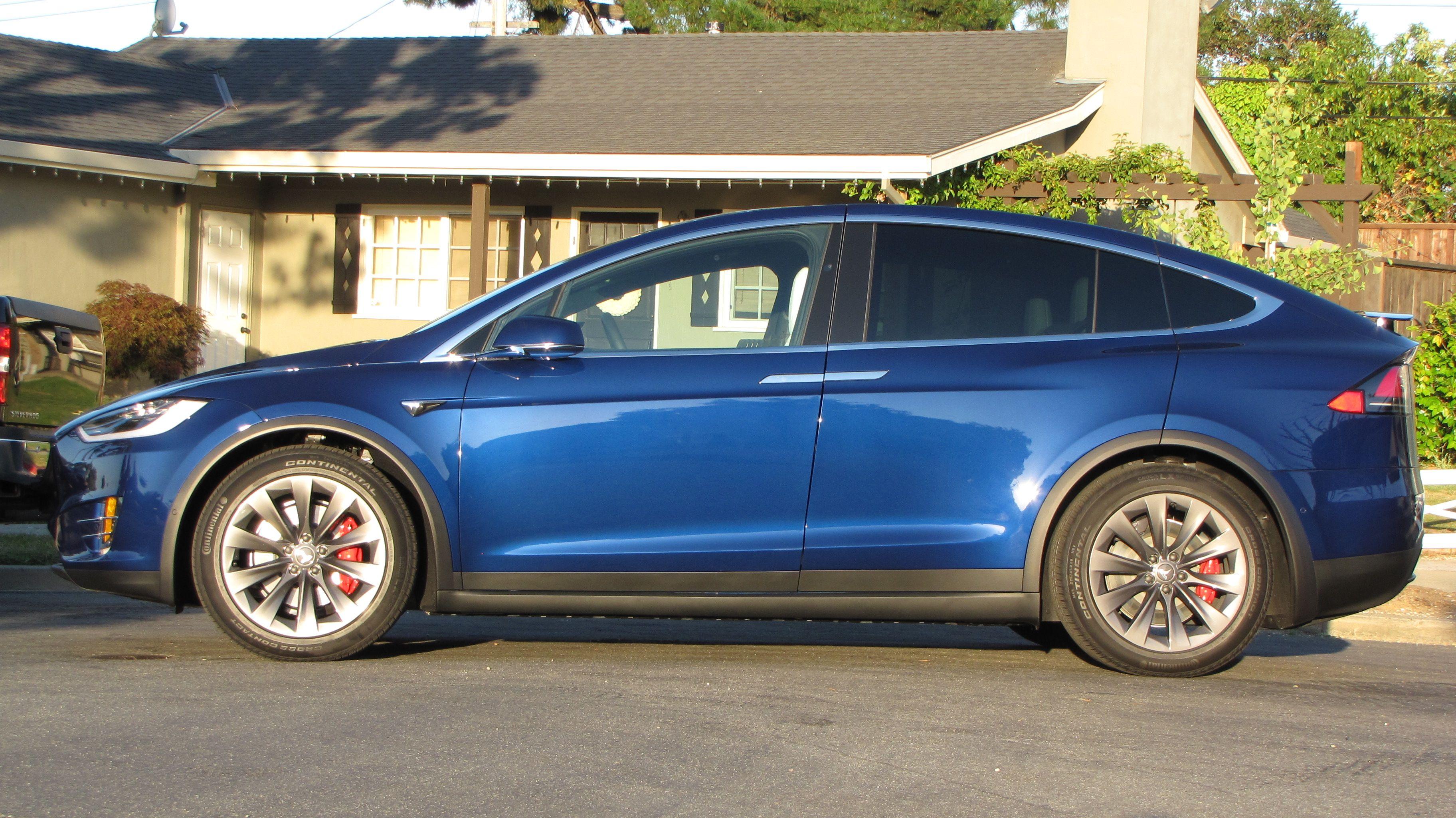 Ludicrous Monday Ceramic Coating Windshield Glass Tesla Model X