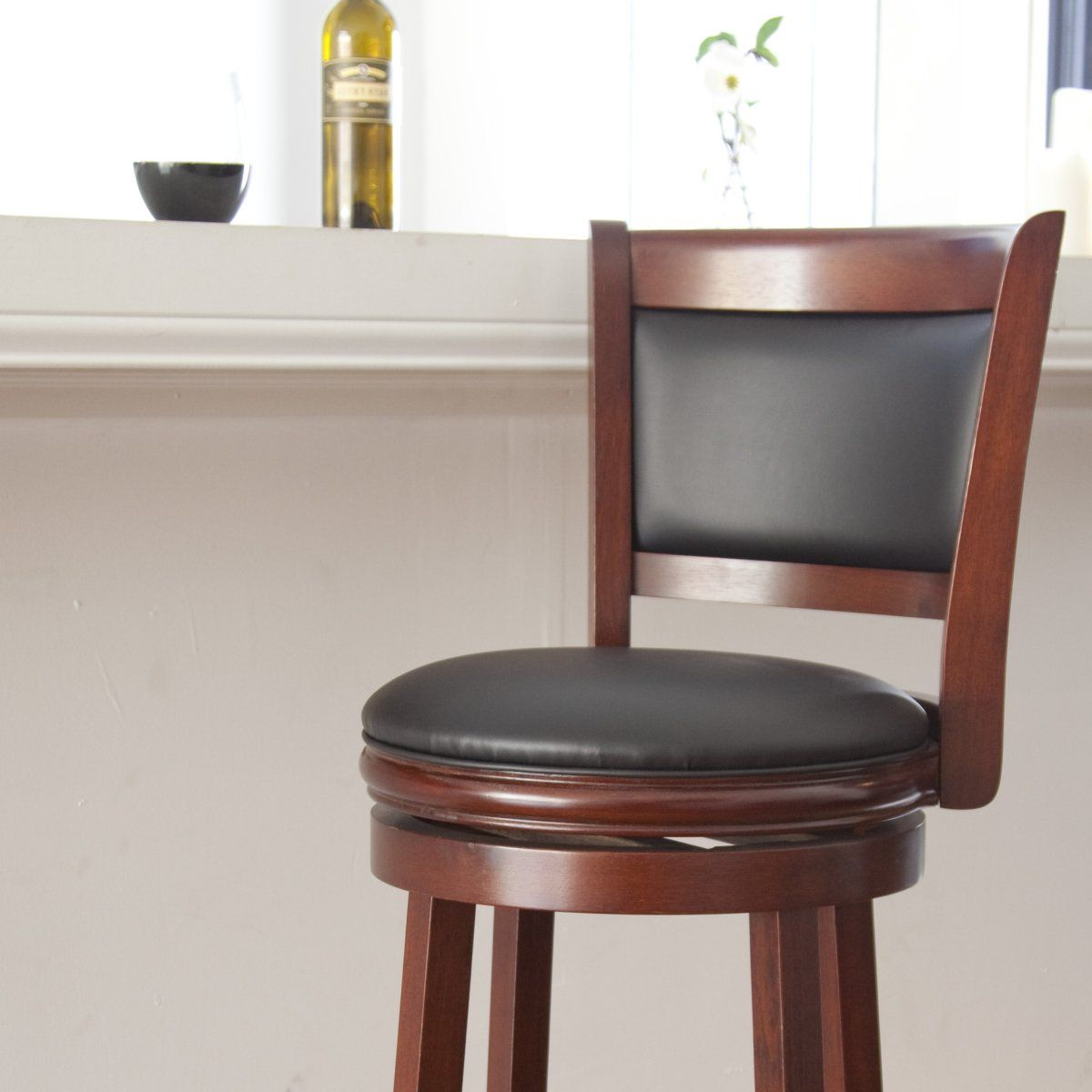 Brilliant Boraam Augusta 29 In Swivel Bar Stool Home Style Swivel Gmtry Best Dining Table And Chair Ideas Images Gmtryco