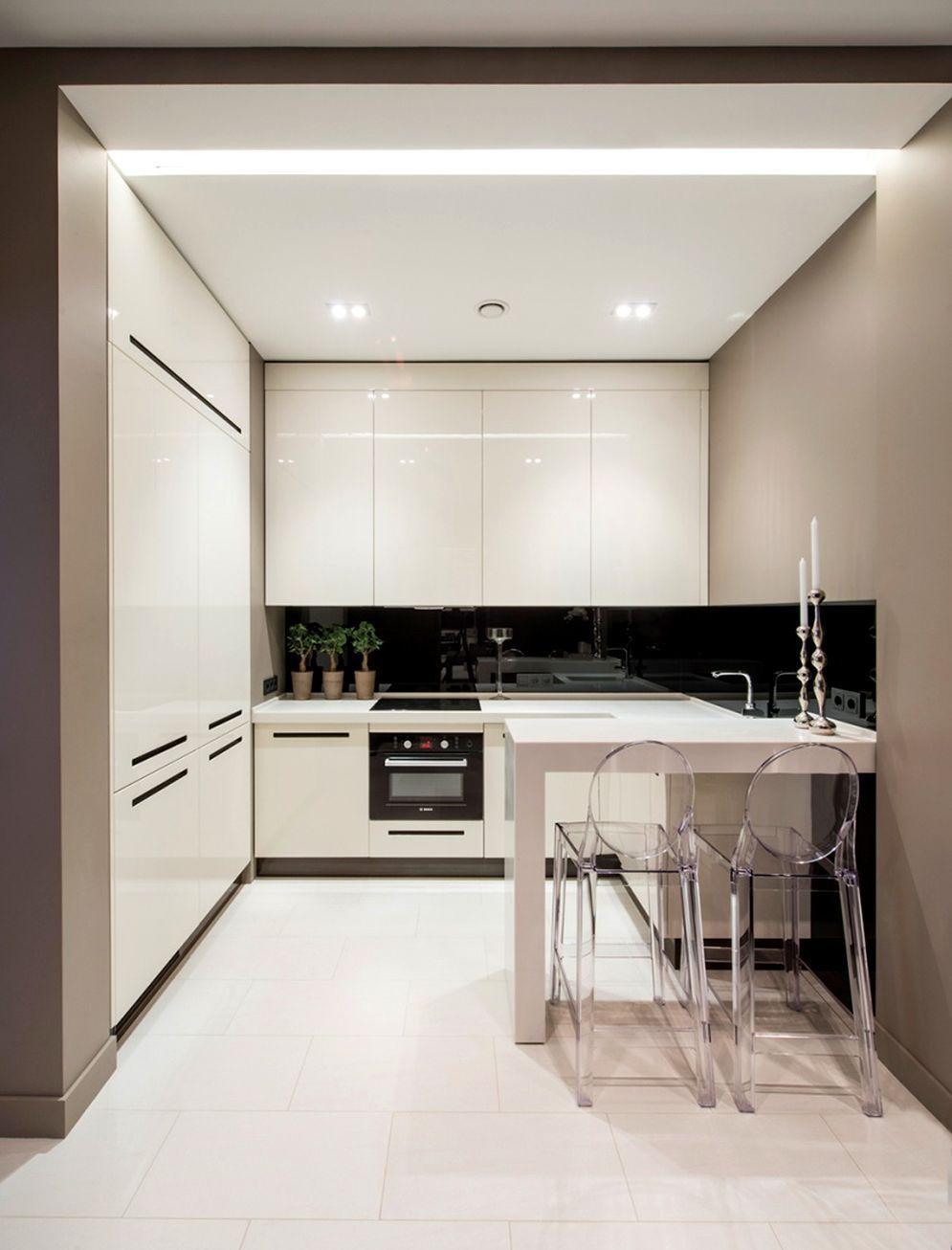 Kitchen Design Ideas For Minimalist Apartment   Kitchen design ...