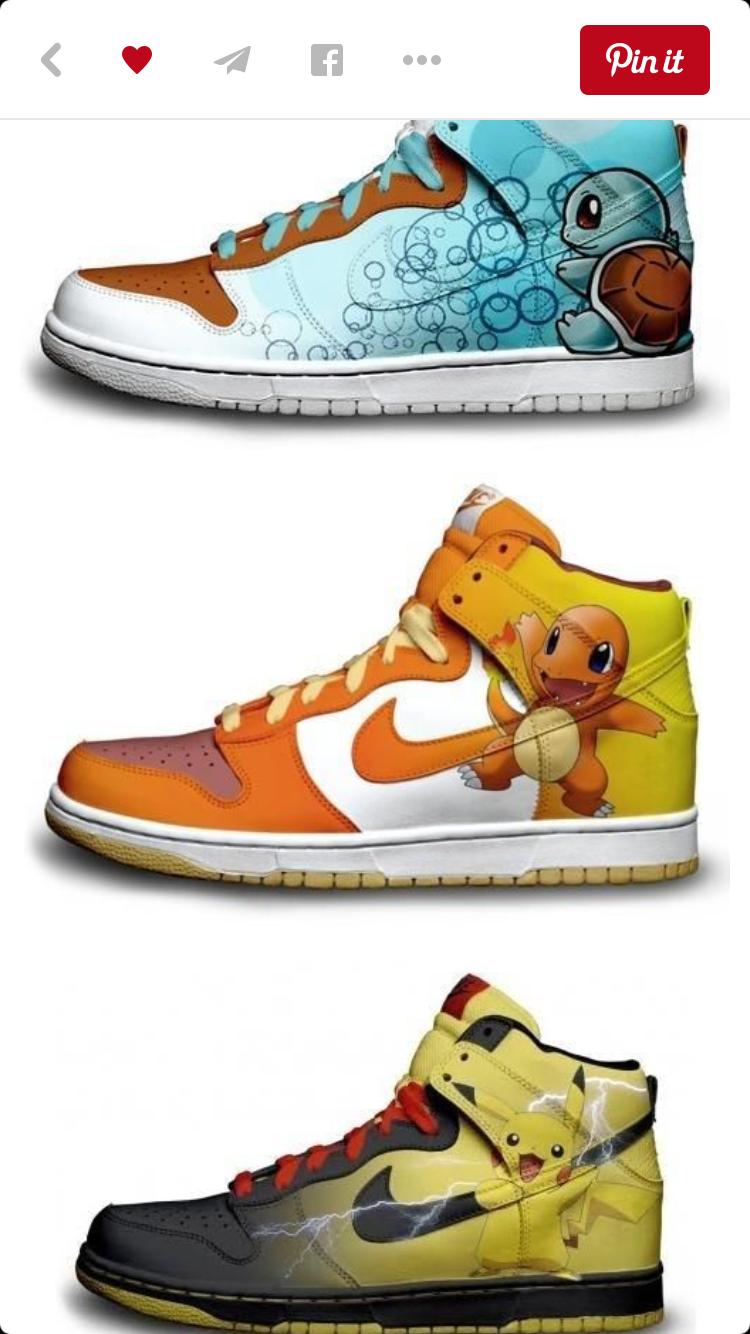 new concept 01b14 e0c66 Pokemon Comics, Running Shoes Nike, Nike Women, Dragon Ball, Pikachu, High