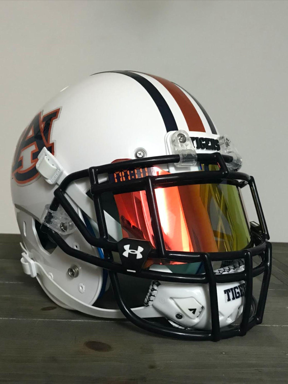 Check Out Cowan S Auburn Concept Build In 2020 Football Helmets Helmet Pics
