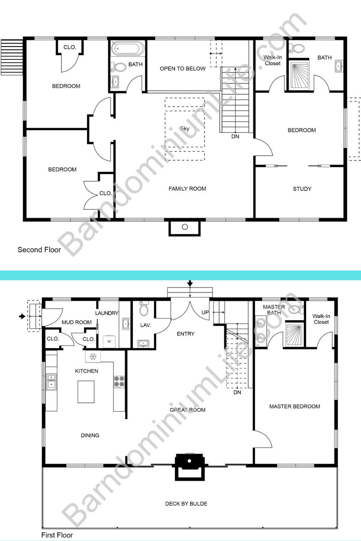 5 Great Two Story Barndominium Floor Plans