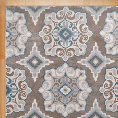 Found It At Wayfair Natural Taupe Teal Area Rug 39 X For Wall Hanging