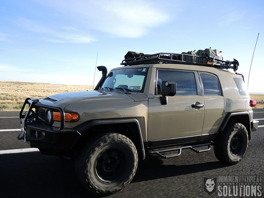 Modifying An Fj Cruiser For Overlanding Security Upgrades And Common Sense Vehicle Security Tips Fj Cruiser Fj Cruiser Mods Toyota Fj Cruiser