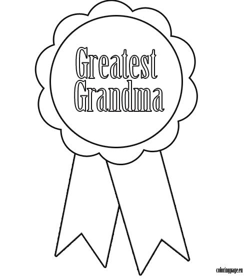 Grandparent\'s Day coloring page | Activities for Grandparent\'s Day ...