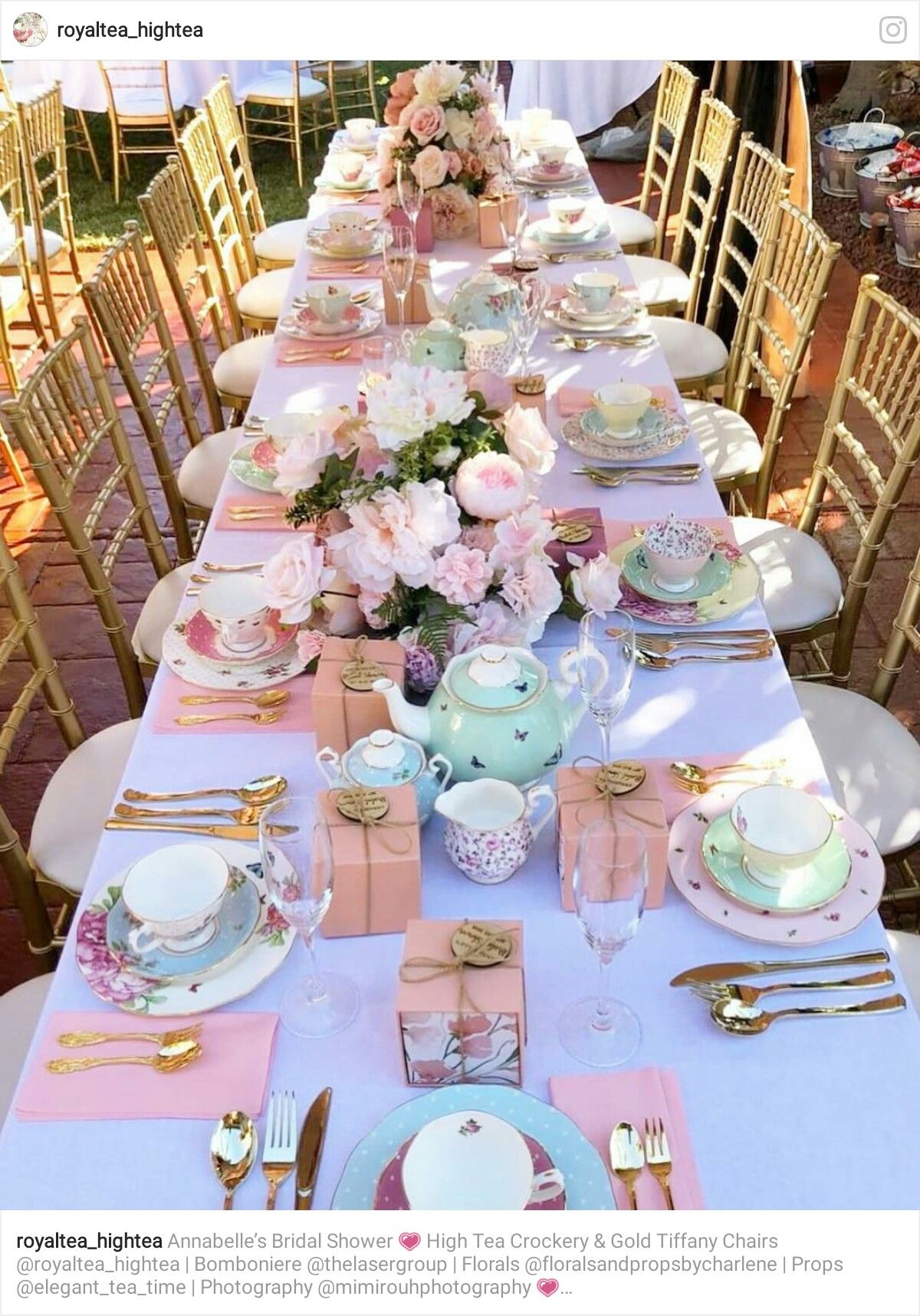 Pin By Yonnie Smith On Set The Table Tea Party Table