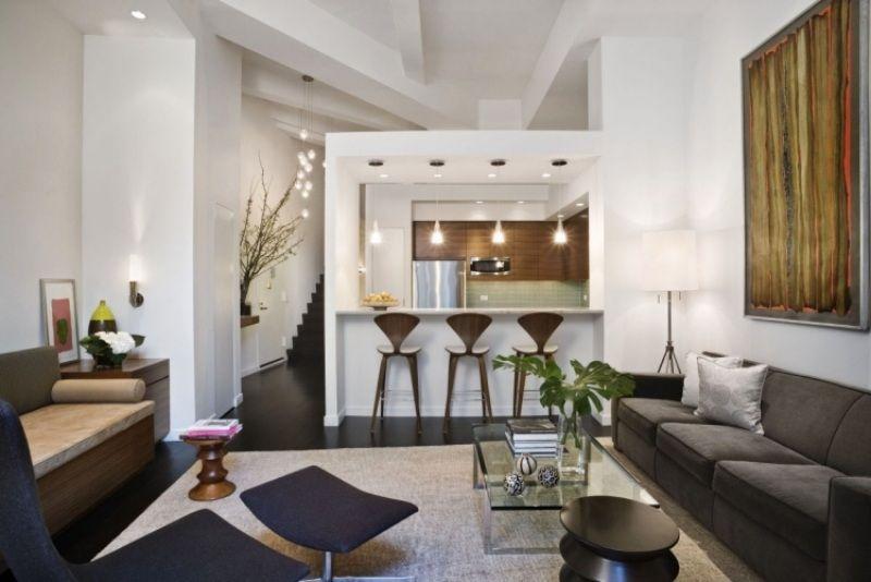 Theke Bar Wohnzimmer / Offene Küche | Ideen Haus | Pinterest