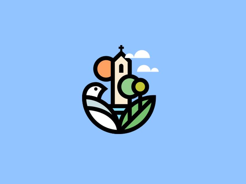 Church Branding Design Logo Logo Design Creative Church Logo