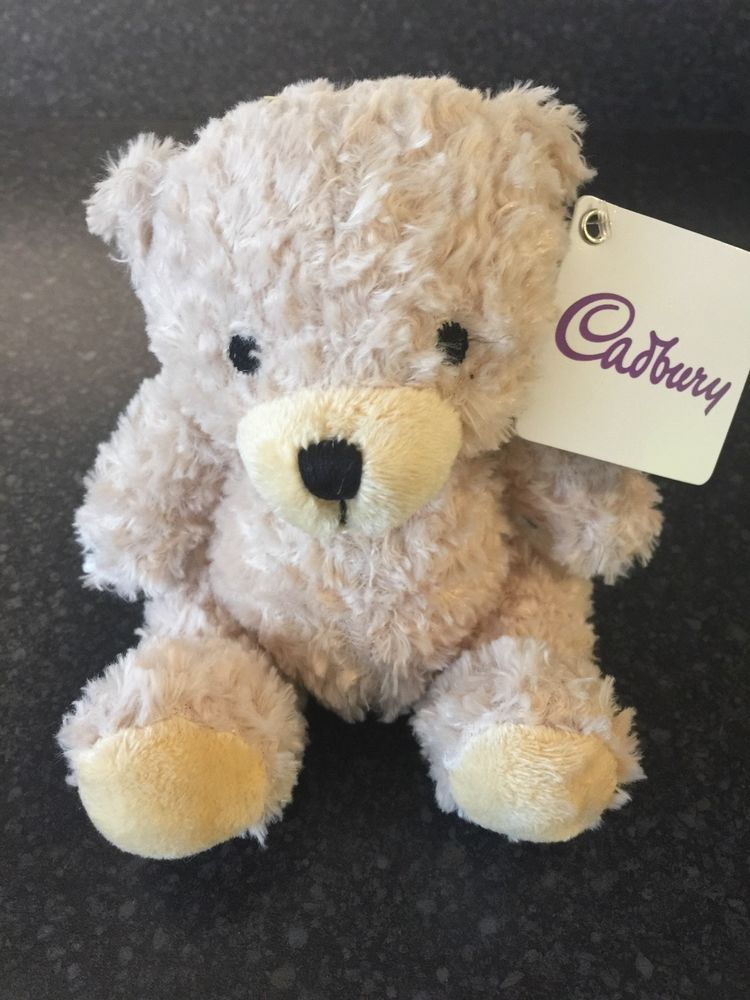 Official Cadbury Cream Teddy Bear soft toy BNWT collectable xmas gift #Cadbury