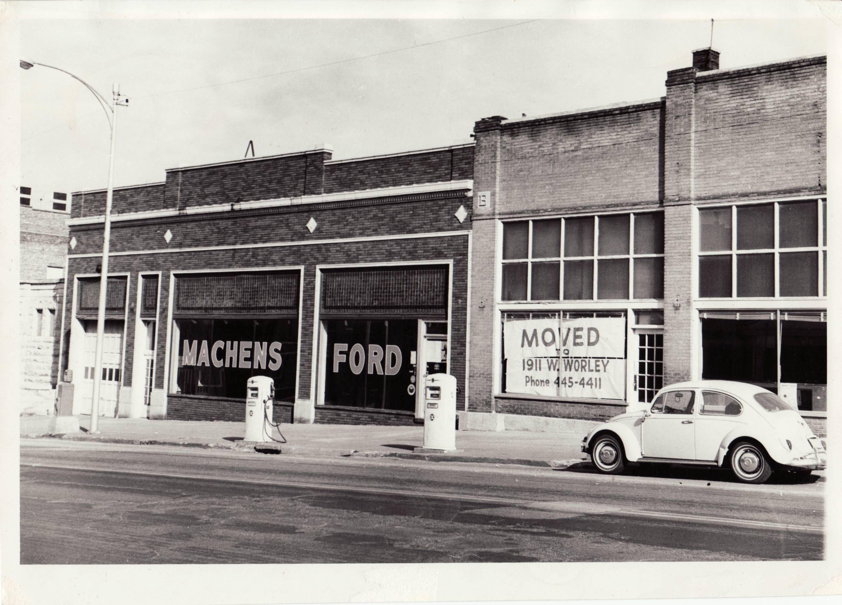 Joe Machens Columbia Mo >> Original Joe Machens Ford Location At 1107 East Broadway