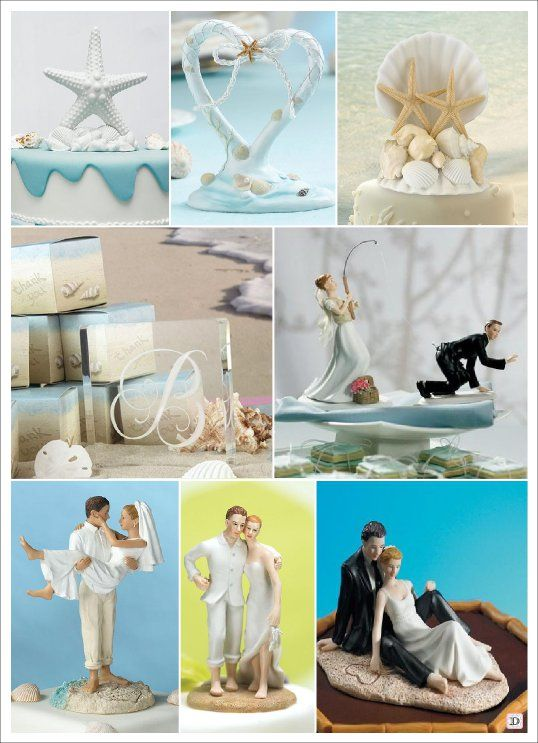 decoration mariage mer figurine gateau piece montee typography wedding cakes wedding et. Black Bedroom Furniture Sets. Home Design Ideas