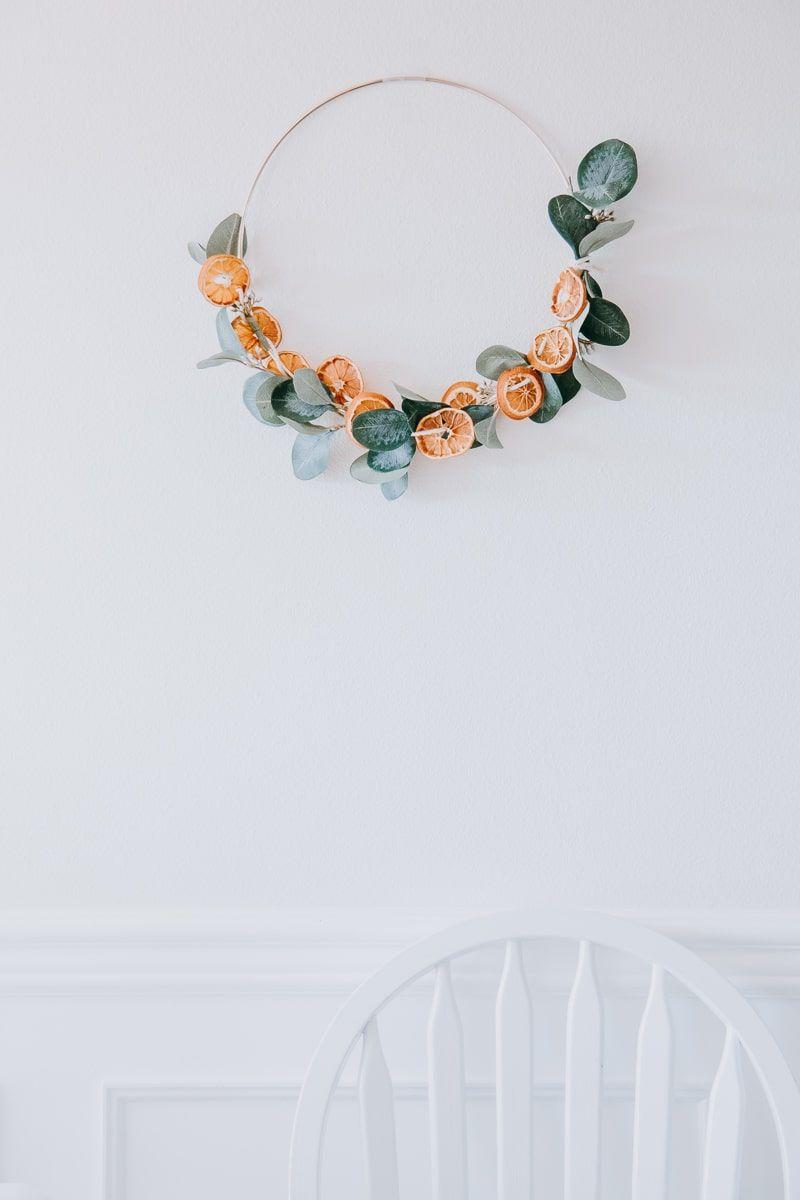 Make this Dried Orange Garland for the Holidays #garlandofflowers