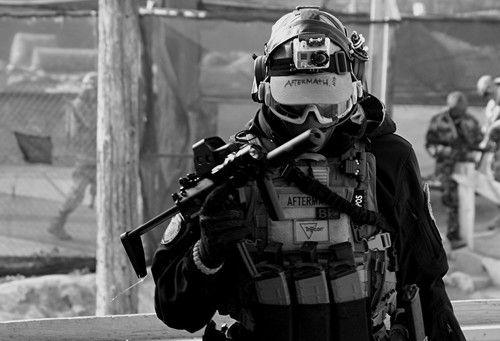 Rothco Long Sleeve Combat Shirt - Black - Large