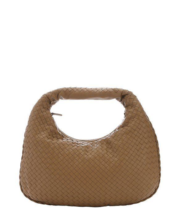 Bottega Veneta camel intrecciato leather hobo shoulder bag ... f6af6656e4a15