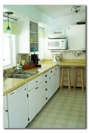 Awesome Update 70s Kitchen Cabinets