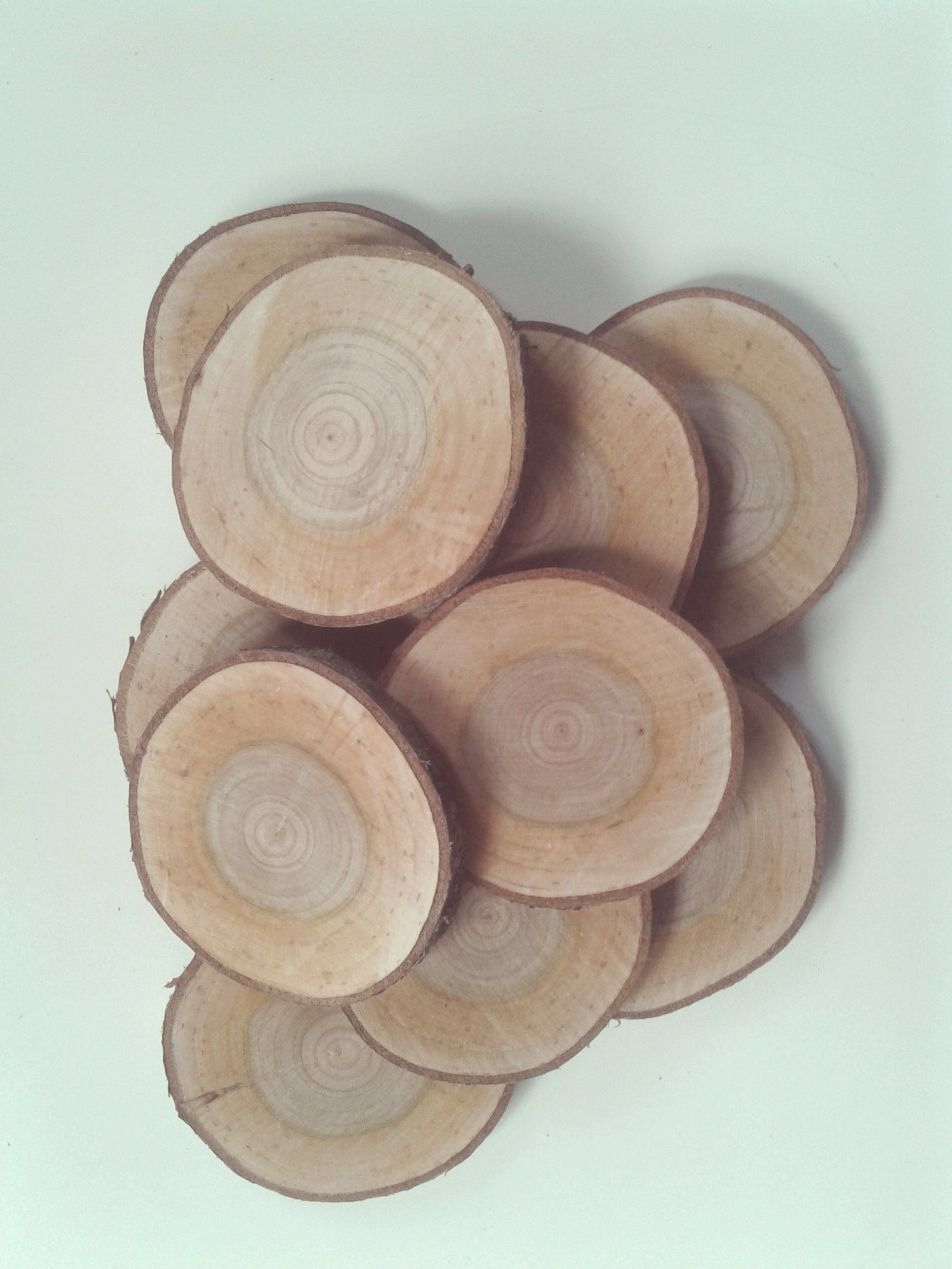 10 Cherry 2 7 8 3 1 2 In Wood Slices Blank Wooden Wedding Favors Bulk Tree Slab Ornaments Log Discs Pyrography Supplies What Sells On Etsy Etsy Decor Tree Slab