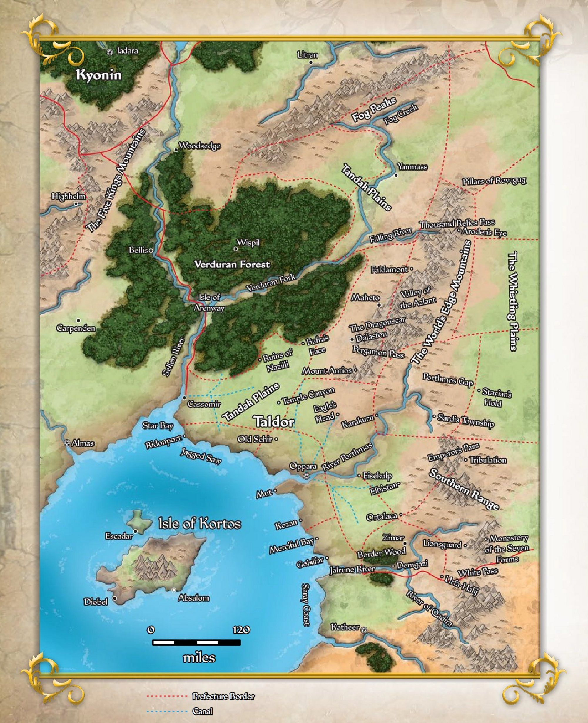 Map Of Continents Fantasy Sci Fi Top Down Pathfinder