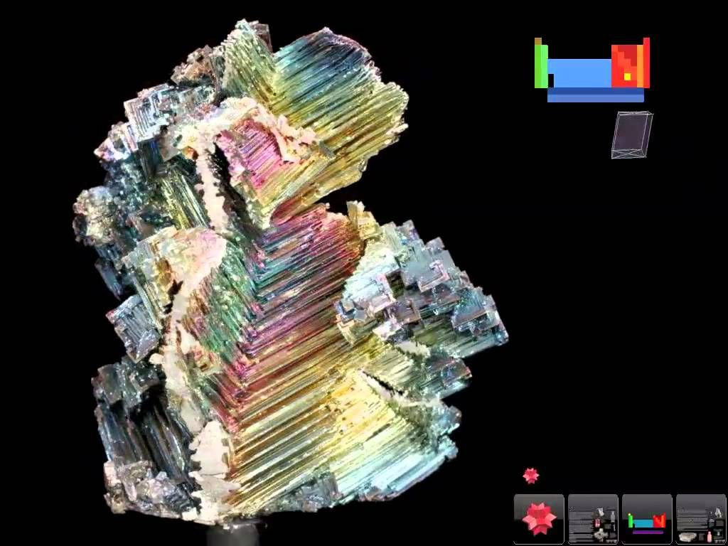 83 Bismuth Bi Periodic Table Original 3d Precious Stones