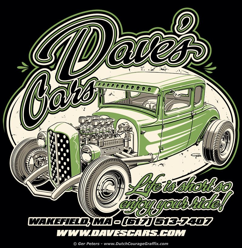 Dave S Cars Kryptonite Ford Model A Coupe Logo Kryptonite